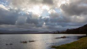 Озеро Англия Великобритания Bassenthwaite Стоковое Изображение