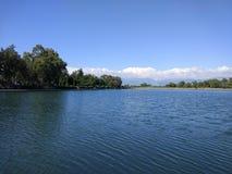 Озеро Анталь Manavgat знобя Стоковые Изображения RF