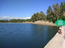 Озеро Анталь Manavgat знобя Стоковое Изображение RF