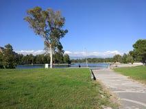 Озеро Анталь Manavgat знобя Стоковые Изображения