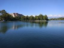 Озеро Анталь Manavgat знобя Стоковые Фотографии RF