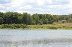 Озеро ландшафт Стоковое Фото