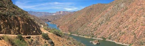 озеро апаша стоковое изображение rf