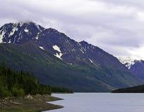 Озеро Аляска Eklutna Стоковое Изображение RF