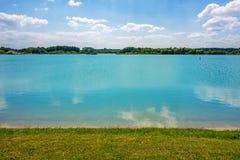 Озеро бирюз Стоковые Изображения