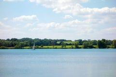 Озеро бирюз Стоковая Фотография RF