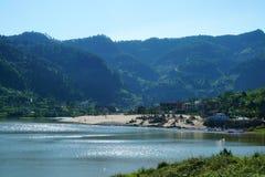 Озеро блеск в лете Стоковое Фото