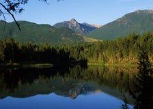 озеро Британского Колумбии Стоковые Изображения RF