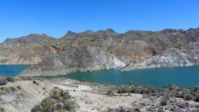 Озеро вверх в горах 2 стоковые изображения rf