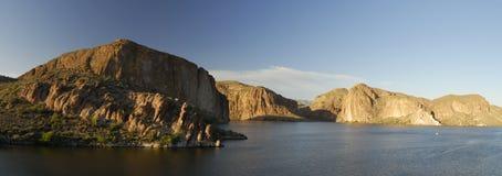озеро вечера каньона Аризоны около phoenix Стоковое Изображение