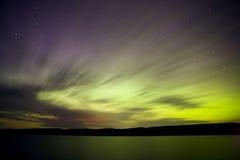 озеро вечера северное Стоковые Фото