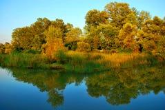 озеро вечера Стоковое Фото