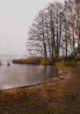 озеро вечера Стоковая Фотография