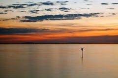 озеро вечера constance Стоковое Изображение