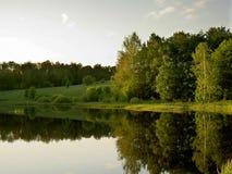 озеро все еще стоковое фото rf