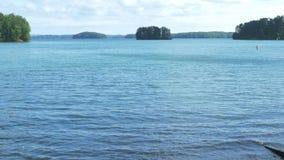 Озеро в Атланте видеоматериал