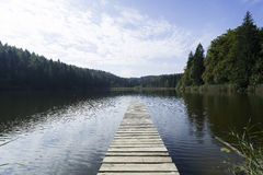 Озеро в Баварии Стоковое фото RF