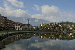Озеро в Вьетнаме (2) Стоковое Фото
