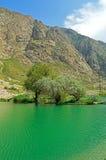 Озеро в горах, Кыргызстан Стоковое фото RF