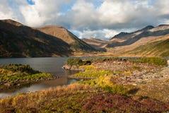 Озеро в горах Стоковые Фото