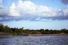 Озеро в горе стоковая фотография rf