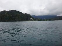 Озеро в горе Стоковые Фото