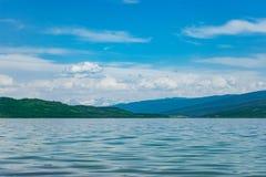 Озеро в горе Стоковая Фотография