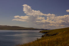 Озеро в дне осени Стоковая Фотография RF