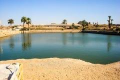 Озеро в Египте Стоковое Изображение RF