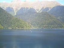озеро в держателях Стоковое Фото