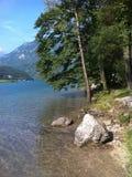 Озеро в Италии Стоковая Фотография