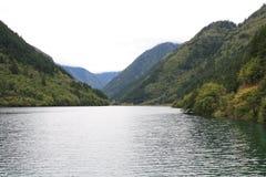 Озеро в национальном парке Jiuzhaigou Стоковая Фотография RF