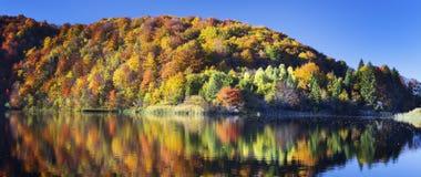 Озеро в национальном парке Plitvice Стоковые Изображения