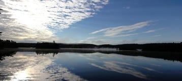 Озеро в национальном парке Algonquin - Онтарио стоковая фотография