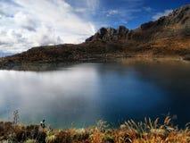 Озеро в небе Стоковое фото RF