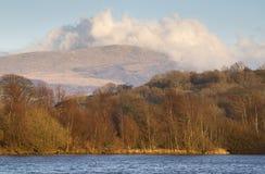 Озеро в северном вэльсе Стоковые Изображения RF