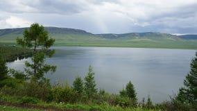 Озеро в Сибире Стоковое Изображение