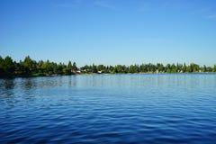 Озеро в Сиэтл Стоковые Фотографии RF