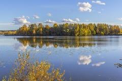 Озеро в Тампере Стоковая Фотография RF