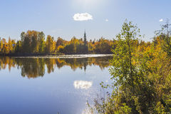 Озеро в Тампере Стоковое фото RF