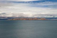 Озеро в Тибете Стоковое фото RF