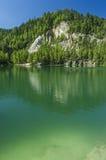 Озеро в утесах Adrspach-Teplice Стоковая Фотография