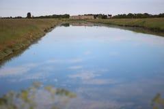 Озеро в Франции стоковое фото