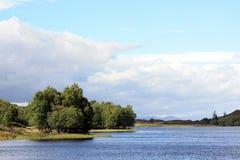 Озеро в Шотландии Стоковые Фото
