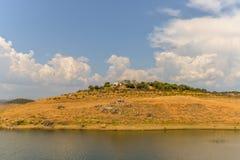 Озеро в del Рио Almodovar стоковые фото