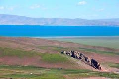Озеро в Tebit Стоковые Фотографии RF