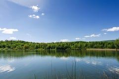 Озеро в Truskavets Стоковое Изображение