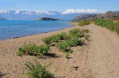 Озеро генерал Carrera. Стоковые Фото