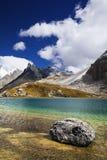 Озеро гористая местность Стоковые Фотографии RF