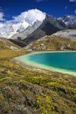 Озеро гористая местность Стоковое Фото